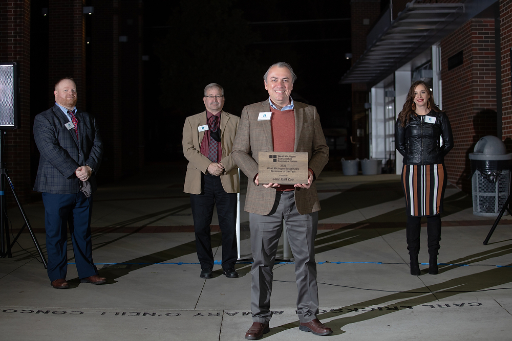 Zoo named 'Sustainable Business of the Year' - Grand Rapids Business Journal